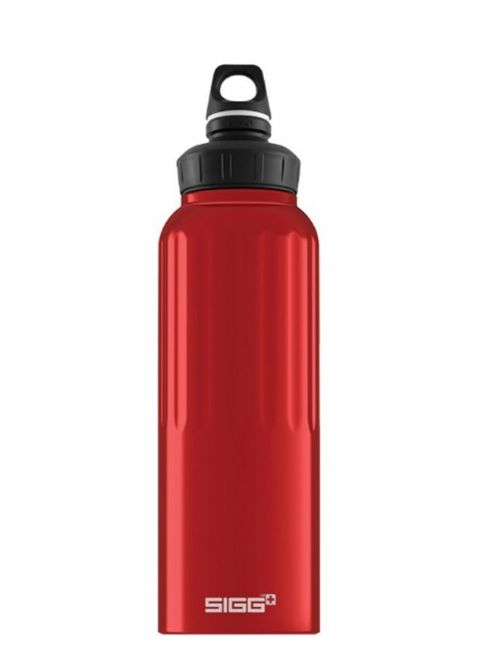 Sigg Traveller Red 1.5 Litre Wide Mouth Water Bottle